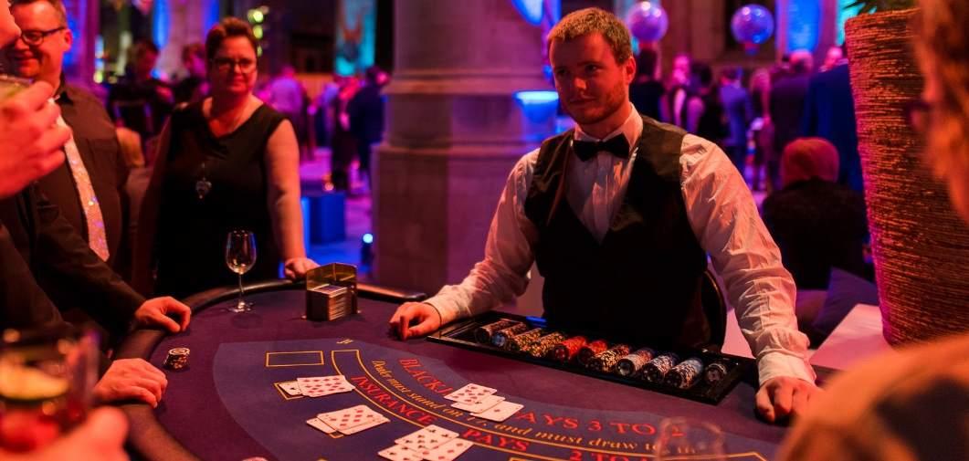 Casinotafels huren
