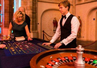roulettetafel huren casinoverhuur op jubileumfeest